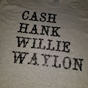 Cash, Hank, Willie, Waylon Shirt